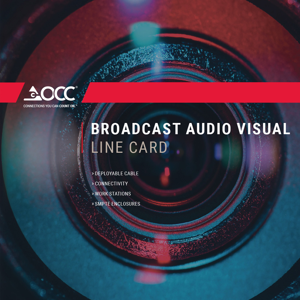 OCC Broadcast Audio Visual Brochure